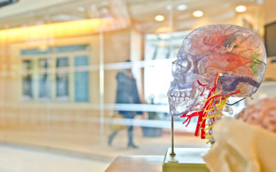 How does hyperbaric oxygen help brain injury or stroke?